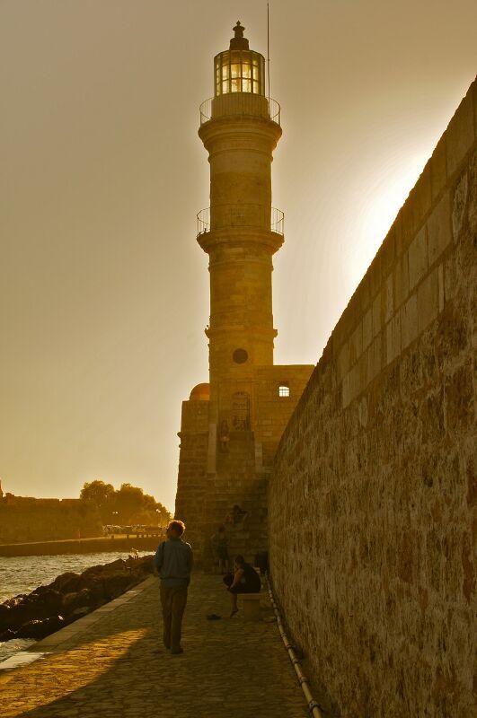#Crete #Chania lighthouse