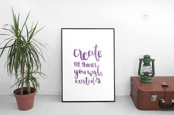 Create the things you wish existed // PRINTABLE DIGITAL