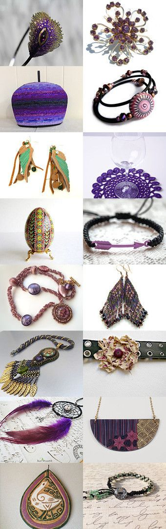 Gift ideas from purple peacock by Agnieszka on Etsy--Pinned with TreasuryPin.com