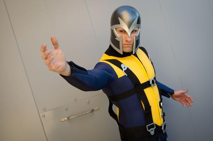 First Class Magneto costume, Halloween 2011