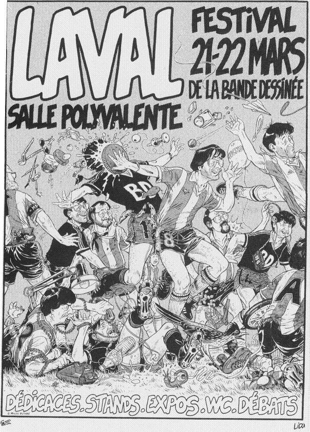 Festival BD Laval 1992