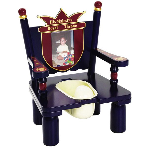 His Majesty's Throne Prince - Wooden Potty Chair for Boys