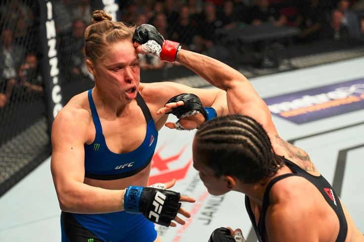 Ronda, you must have needed money really bad to step into the Octagon with Amanda...just sayin'