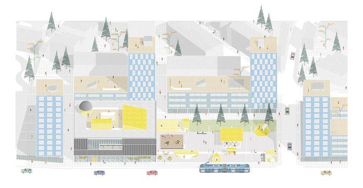 Gautier Rey architecture portfolio | Conservatoire