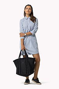 Compra vestido camisero algodón y explora la colección de vestidos Tommy Hilfiger para  mujer. Envío gratuito desde €150 y devolución gratuita. 8719253901300