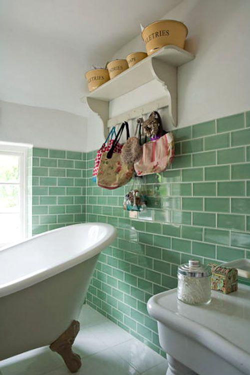 M s de 25 ideas incre bles sobre pintando azulejos de ba o - Como pintar los azulejos del cuarto de bano ...