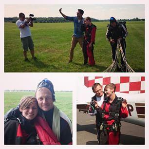 Földet értünk!!! 3000 méter magasból próbáltam ki a tandemugrást. Már egy ideje van talaj a lábam alatt, de még mindig nem tértem magamhoz az élmény áradattól. :-)