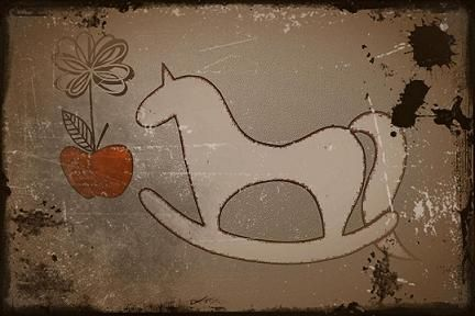 Christmas Horse. Drawing design by Hammi´s Design