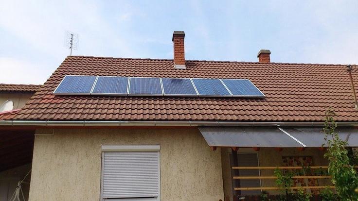 napelem rendszer háztartásoknak
