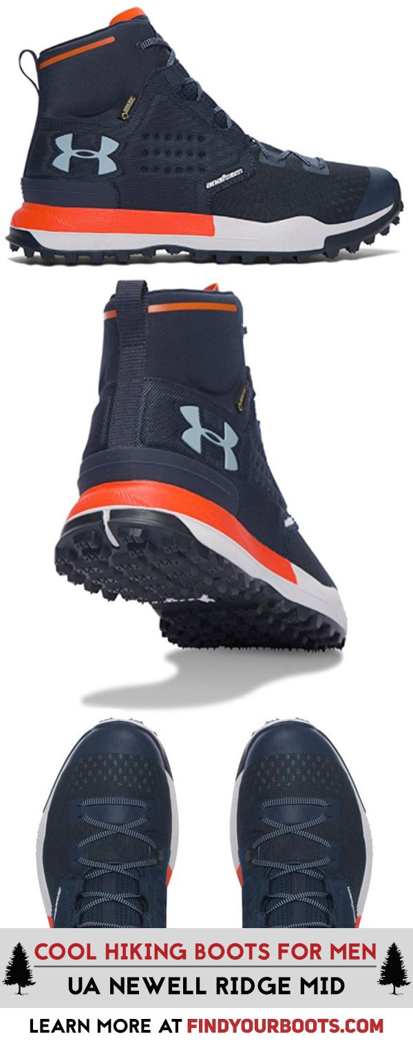 Under Armour Newell Ridge looks and performs amazing on the trail. These are our favorite mens hiking boots. Check out more stylish hiking boots for men at https://www.findyourboots.com/stylish-hiking-boots-for-men