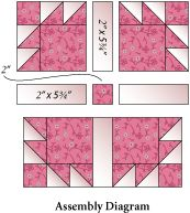 Quilt Block Pattern - Dove in the Window