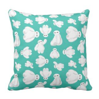 Baymax pillow comes in square or rectangular shapes and polyester or cotton material.
