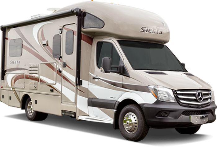Siesta Sprinter Motorhomes from Thor Motor Coach