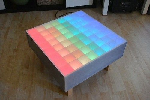 87 best home led lighting ideas images on pinterest lighting 64 rgb led color table hacked gadgets diy tech blog diy tech do solutioingenieria Images