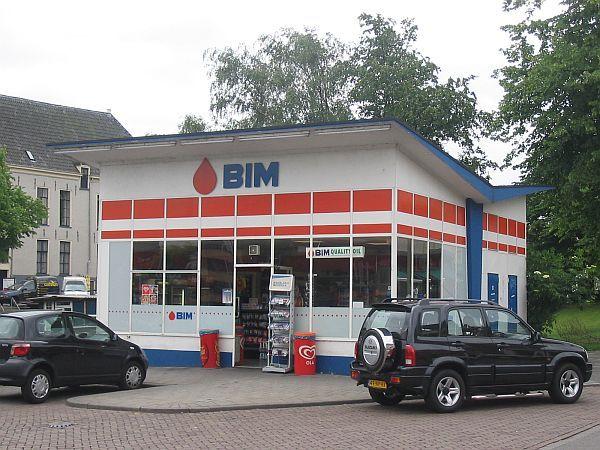 Dudok tankstation in Groningen - het enige nog in bedrijf zijnde oorspronkelijke Esso station in Nederland.