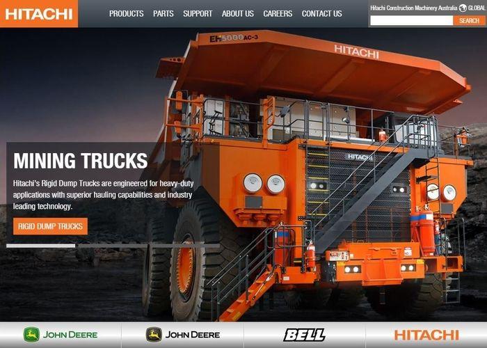 Hitachi Construction Australia | CSS Website