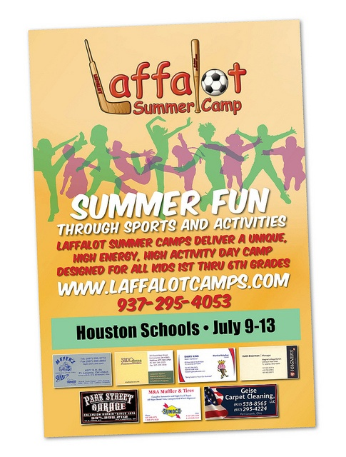 Laffalot Summer Camp Poster by The Messenger Press, via Flickr