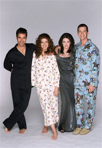 """""""Will & Grace"""" cast (Eric McCormack, Debra Messing, Megan Mullally and Sean Hayes)"""