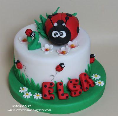 Le Delizie di Ve: LADYBUG CAKE TOPPER