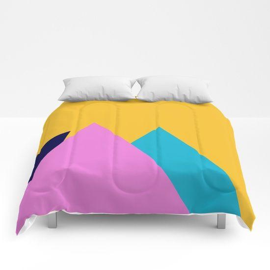 Beautiful Mountains Comforters