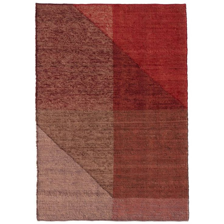 Nanimarquina Capas 1 Standard Rug In Red By Mathias Hahn Nanimarquina Rugs Small Rugs