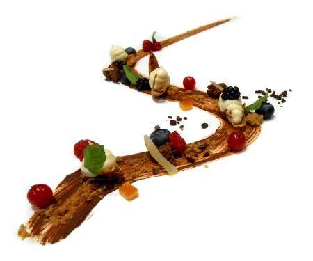 La strada nel bosco di Hänsel e Gretel - chef Giovanni Grasso e Igor Macchia (ricetta) #romagourmet #italiancuisine #dessert