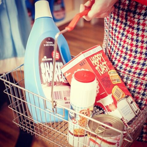 Mister Quick Markt - #supermarket #vintage #60s #toast #cornflakes #art #popart