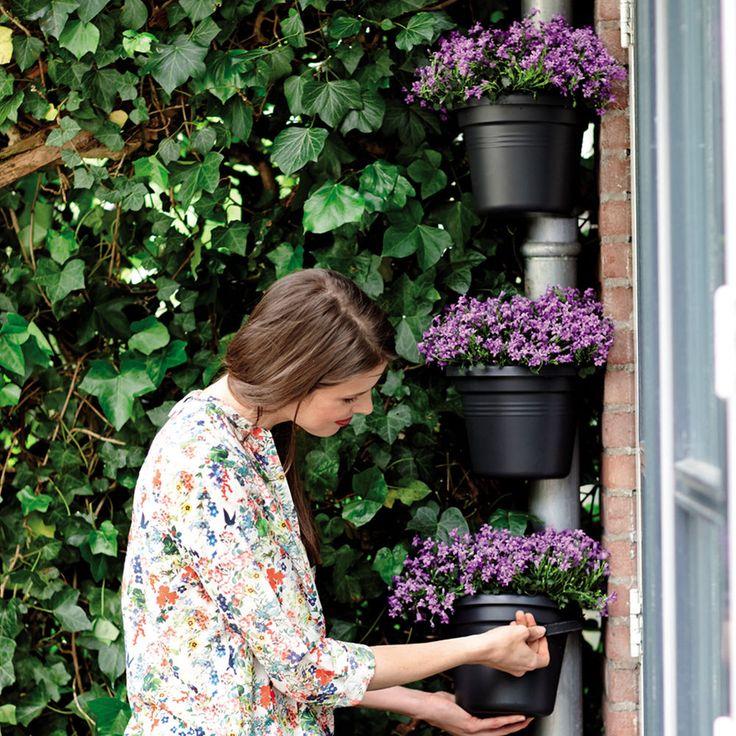 ELHO Green Basics Regenrohr Pflanzgefäß Blumentopf Blumenkasten in Garten & Terrasse, Pflanzzubehör, Körbe, Blumentöpfe & -kästen | eBay!
