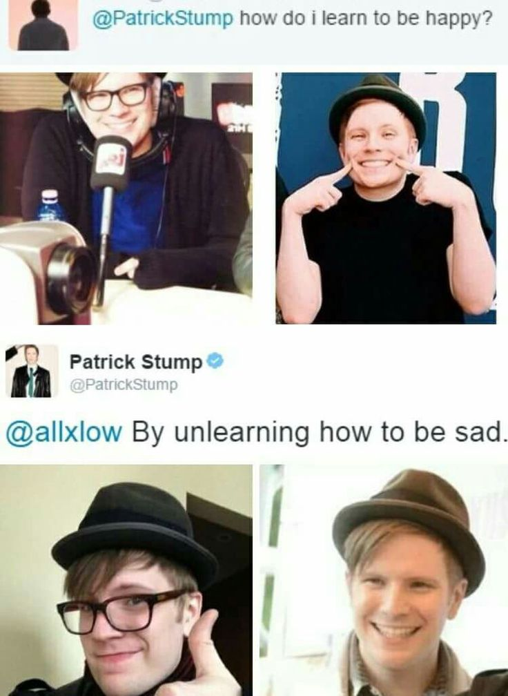 Patrick Thats so deep...