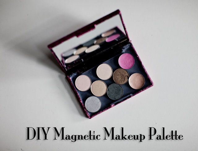 I am Style-ish {Seattle Fashion and Beauty Blog}: DIY Magnetic Makeup Palette