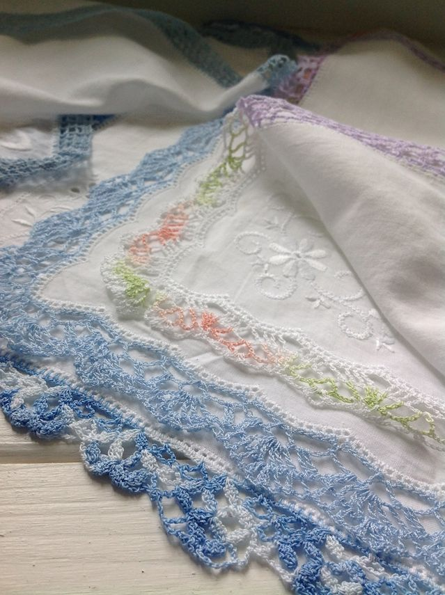 578 besten Crochet ~ Edgings Bilder auf Pinterest | Häkelborten ...