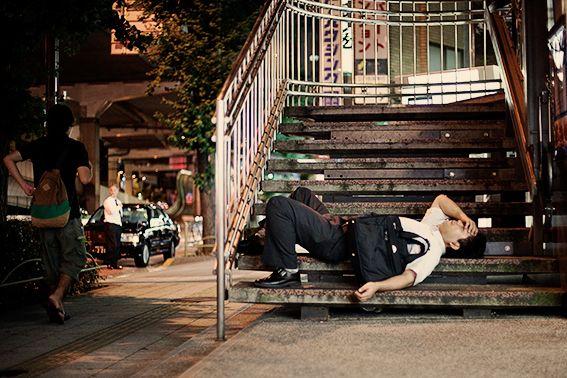 Tokyo's 'street sleepers'