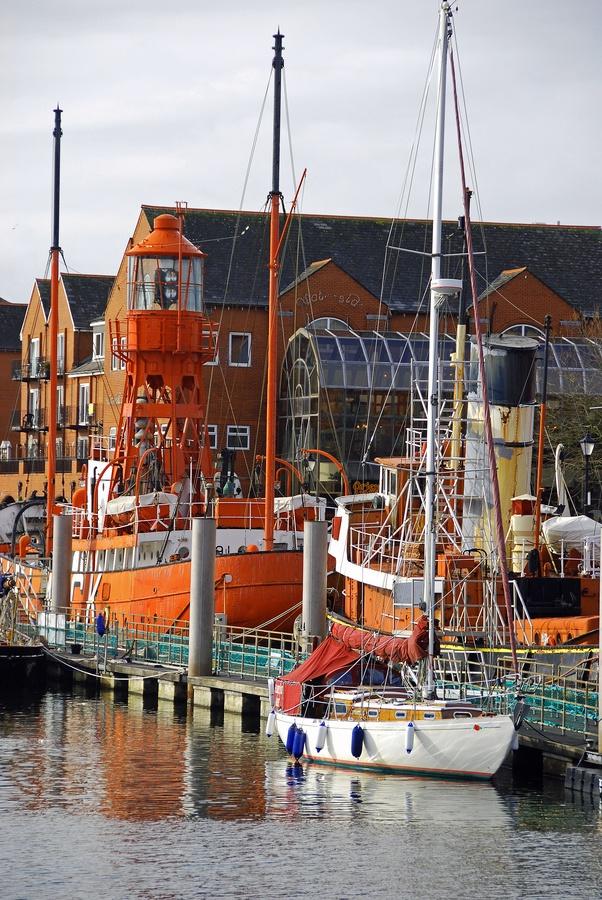 Swansea Marina by Paul Tarrant