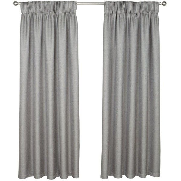 Rimini Pencil Pleated Curtains (£36) ❤ liked on Polyvore featuring home, home decor, window treatments, curtains, window curtains, beige curtains, cream curtains and pencil pleat curtains