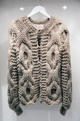 """""""Amy Hall's knits are the clothes to wrap up in this winter"""" - Vogue"""