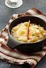 Risotto au parmesan, poires et champagne - déjeuner de soleil