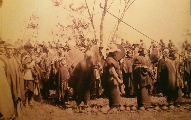 Ngillatun mapuche, 1910, autor desconocido.