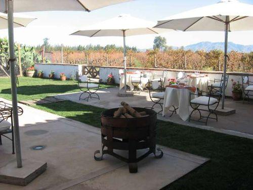 Vino Bello Restaurant.. outdoor seating.. #Colchagua