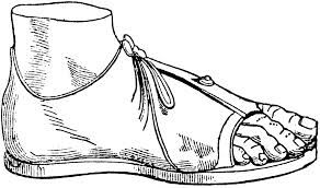 Calceus Especie de sandalias mas sofisticadas que las carbatinas