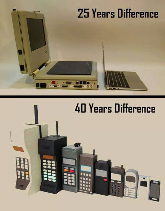 Evolution Of Laptops And Cellphones