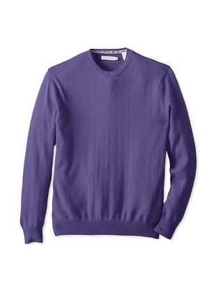 75% OFF Alex Cannon Men's Long Sleeve Crew with V-Inset (concord)