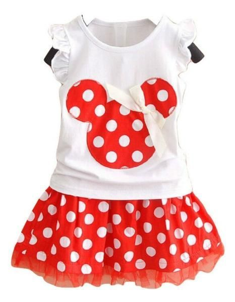 Your little princess will have a perfect day in this darling sweet little red polka dot Minnie Mouse dress! The Minnie's Magic Party Dress is all cotton with a lace bottom.  Disney birthday party. Minnie Mouse birthday party. Available in Red or Navy Blue.  http://TheChicFind.com