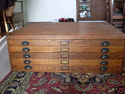 7 best cabinet images on pinterest art studios artist studios up for auction from a local sale is a very rare hamilton oak blueprint file cabinet malvernweather Images