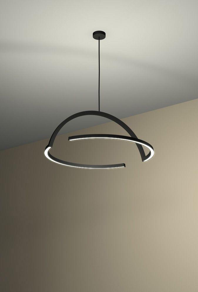 Led lighting fixtures brimming and extreme design for Arredamento illuminazione interni