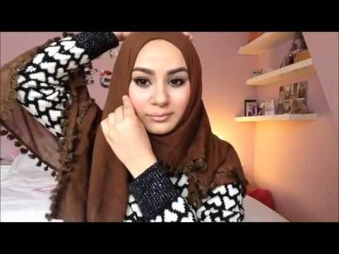 Tutorial Hijab Square Scarf!
