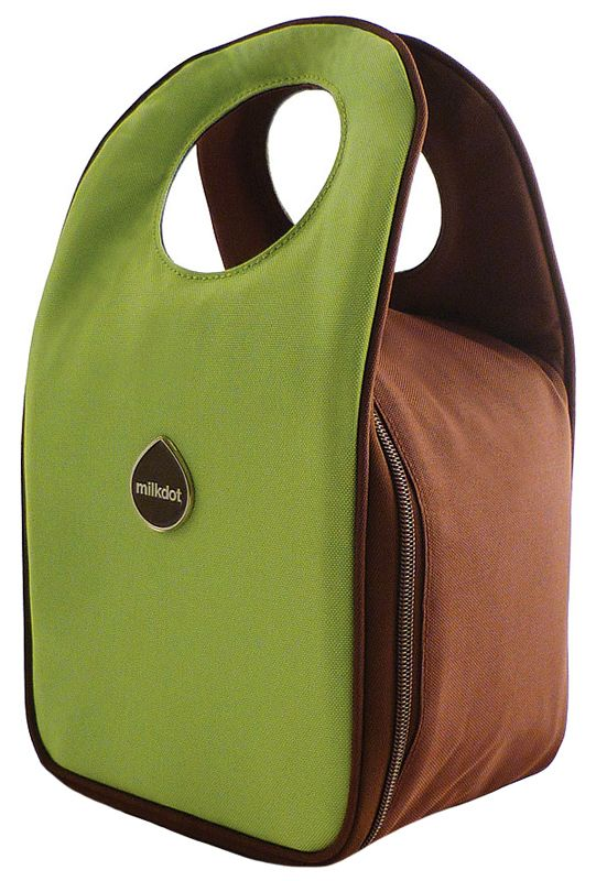 Lime Stöh Insulated Lunch Tote