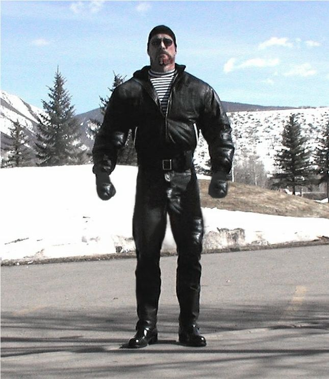 Master Ryker in Aspen | muscles | Leather, Leather Pants ...