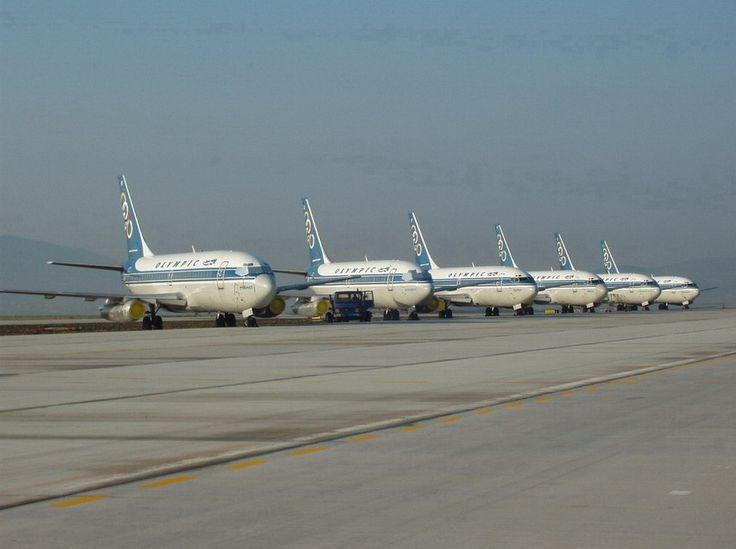 Olympic Airways B 737-284 Fleet