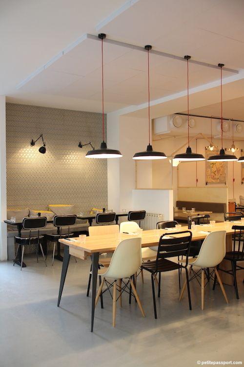 154 best papier peint boutiques et restaurants images on. Black Bedroom Furniture Sets. Home Design Ideas