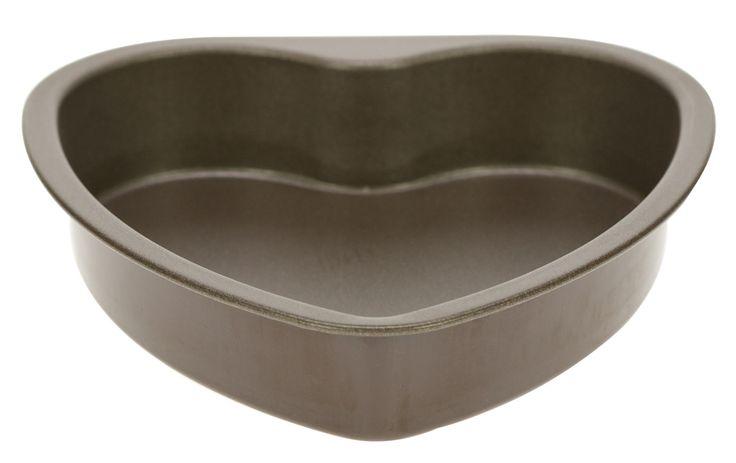 Hartvormige taarten of bescuit bak je met deze Gobel bakvorm voorzien van een antikleeflaag. De vorm heeft een diameter van circa 17 cm.